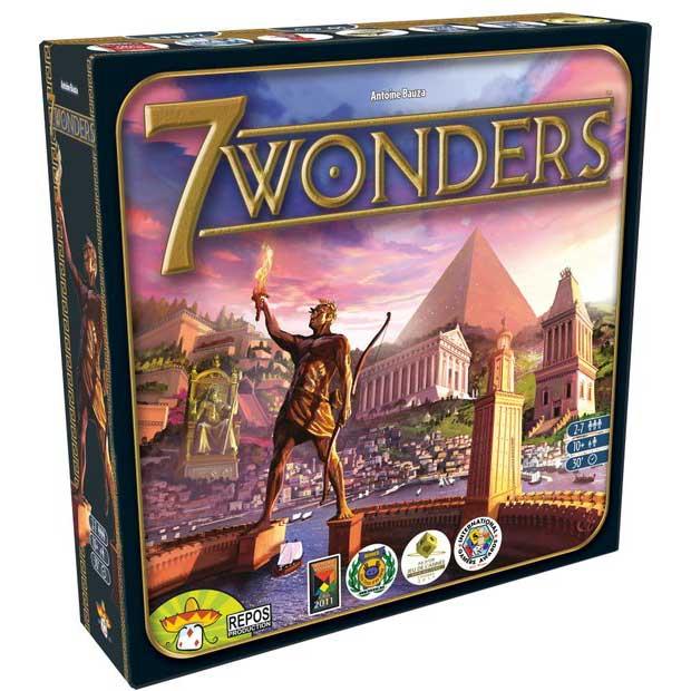 7 Wonders Spel