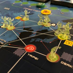 Pandemic Legacy Red geinfecteerd