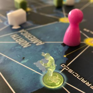 Pandemic Legacy Red Gameplay