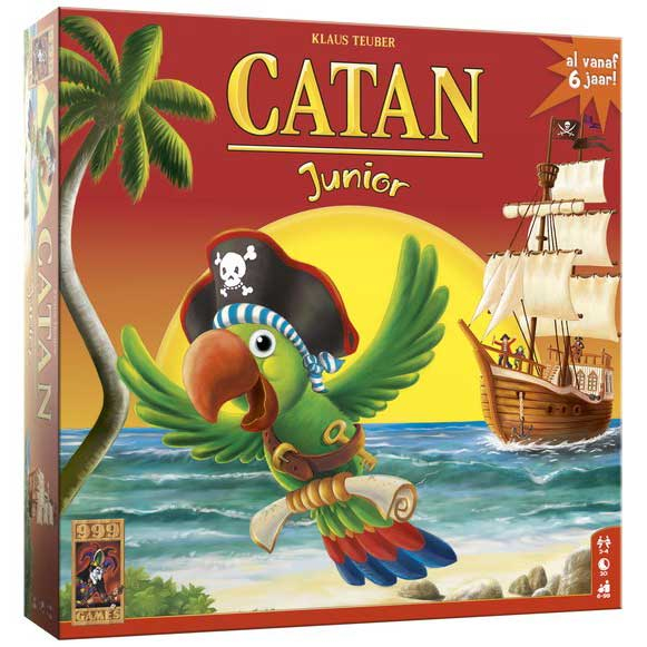 De Kolonisten van Catan: Junior Spel
