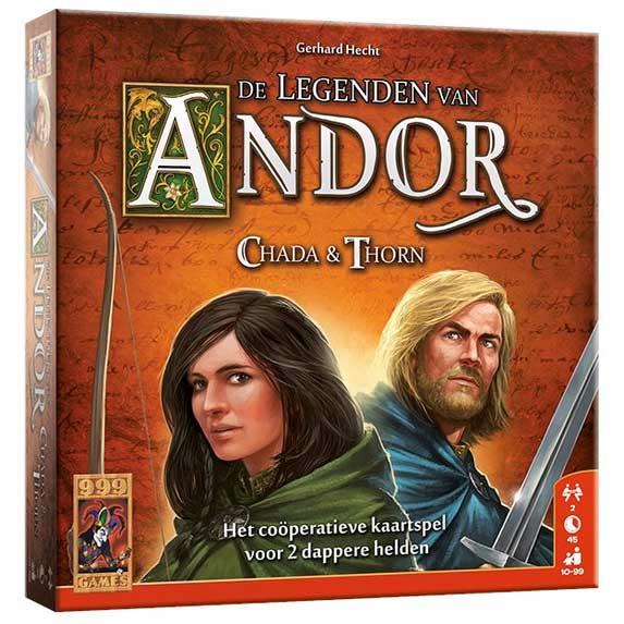 Legenden van Andor: Chada Thorn Kaartspel