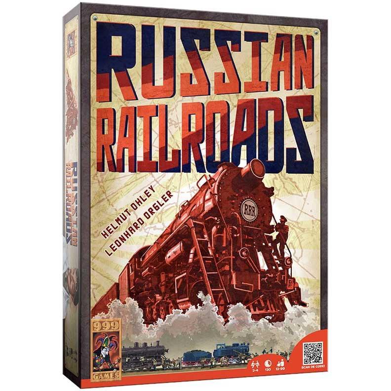Russian Railroads Spel
