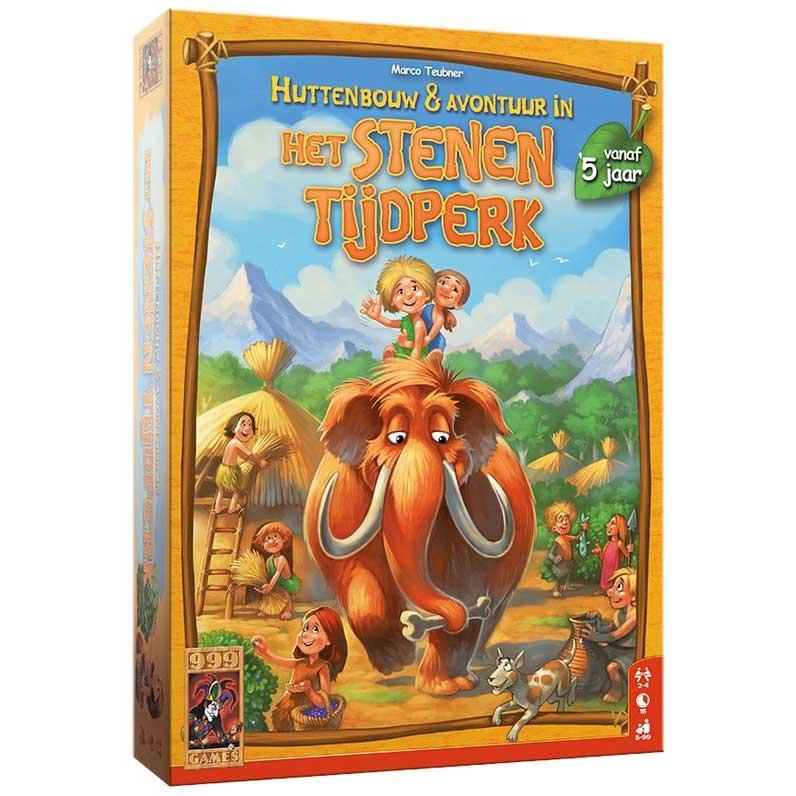 Stenen Tijdperk Junior: Huttenbouw & Avontuur Spel