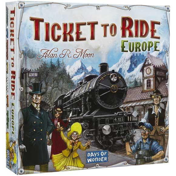 Ticket to Ride Europe Spel