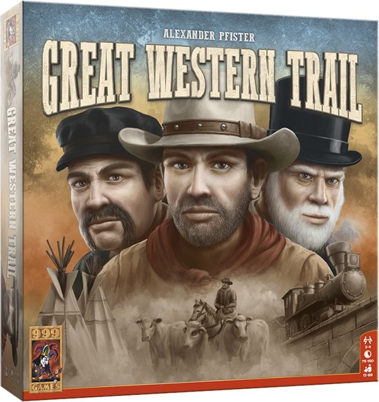 Great Western Trail Spel