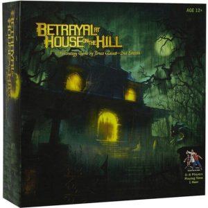 Betrayal at the house on the hill bordspel