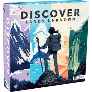 Discover Lands Unknown bordspel
