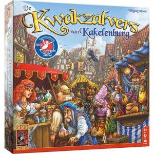 Kwakzalvers van Kakelenburg bordspel