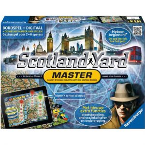 Scotland Yard Master bordspel