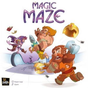 magic maze bordspel